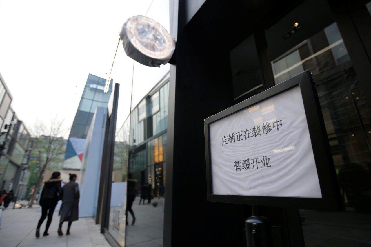 憂遭抵制?Canada Goose北京旗艦店延遲開業。 路透社