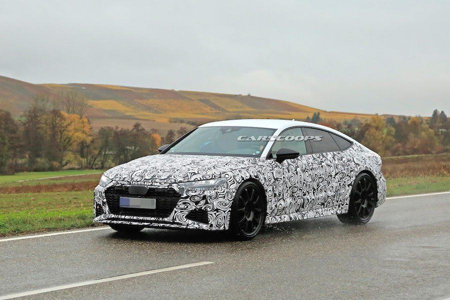2020 Audi RS7已套上量產版本外殼 緊鑼密鼓測試中