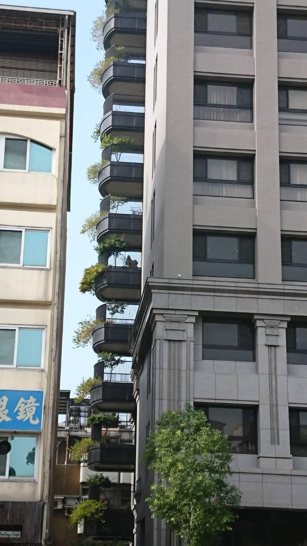 高雄市新建案陽台推出增設綠化空間。記者謝梅芬/攝影
