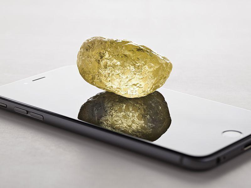 鴿子蛋不夠看! 北美出土的最大鑽石大如雞蛋