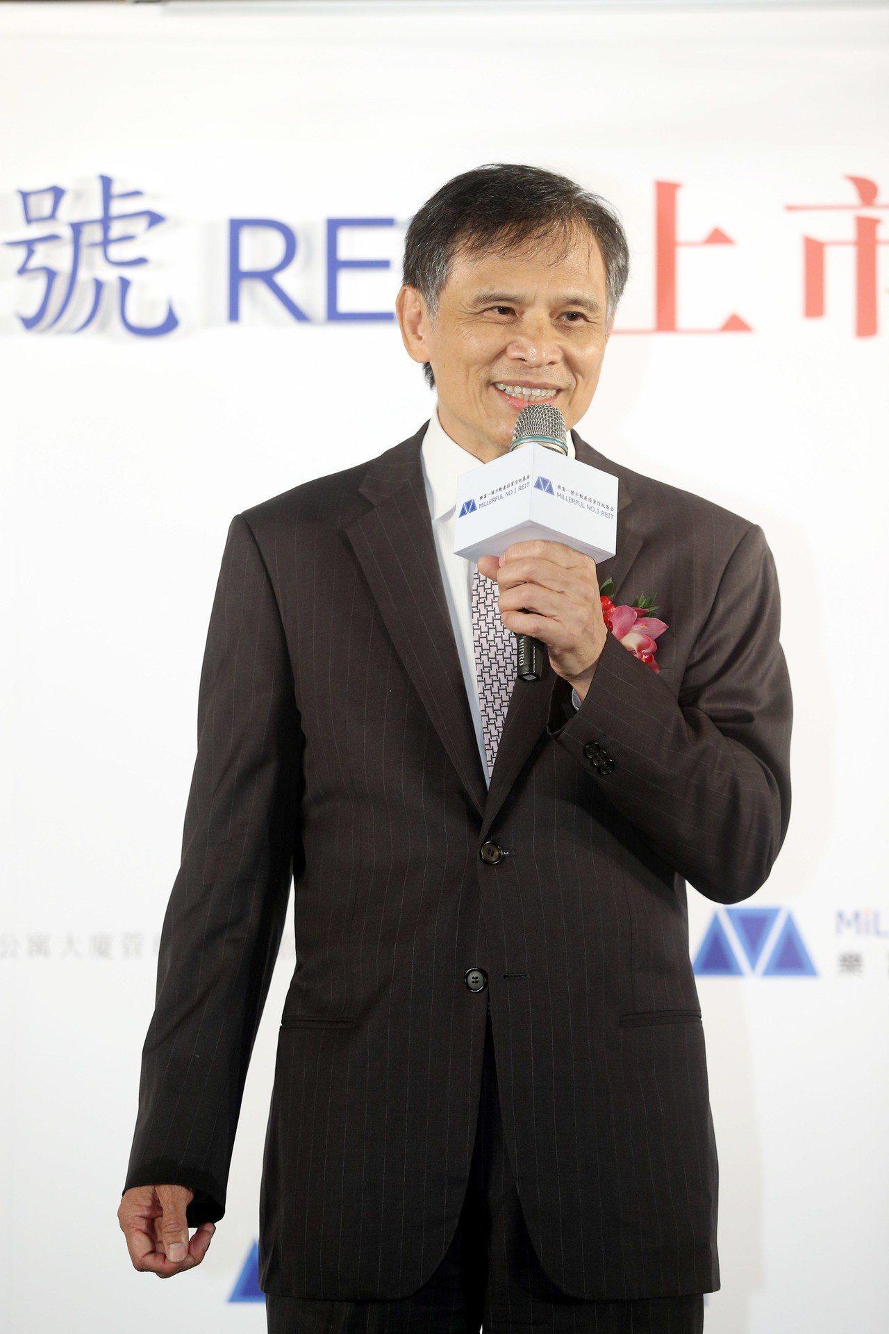 京城銀行董事長戴誠志。記者邱德祥/攝影