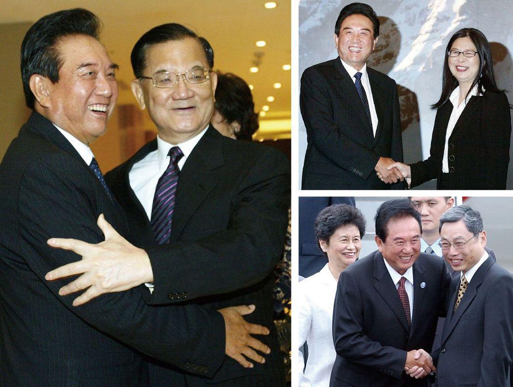 2008年陳雲林為「江陳會」抵台,為兩岸60年來抵台層級最高的官員,分別與海基會...