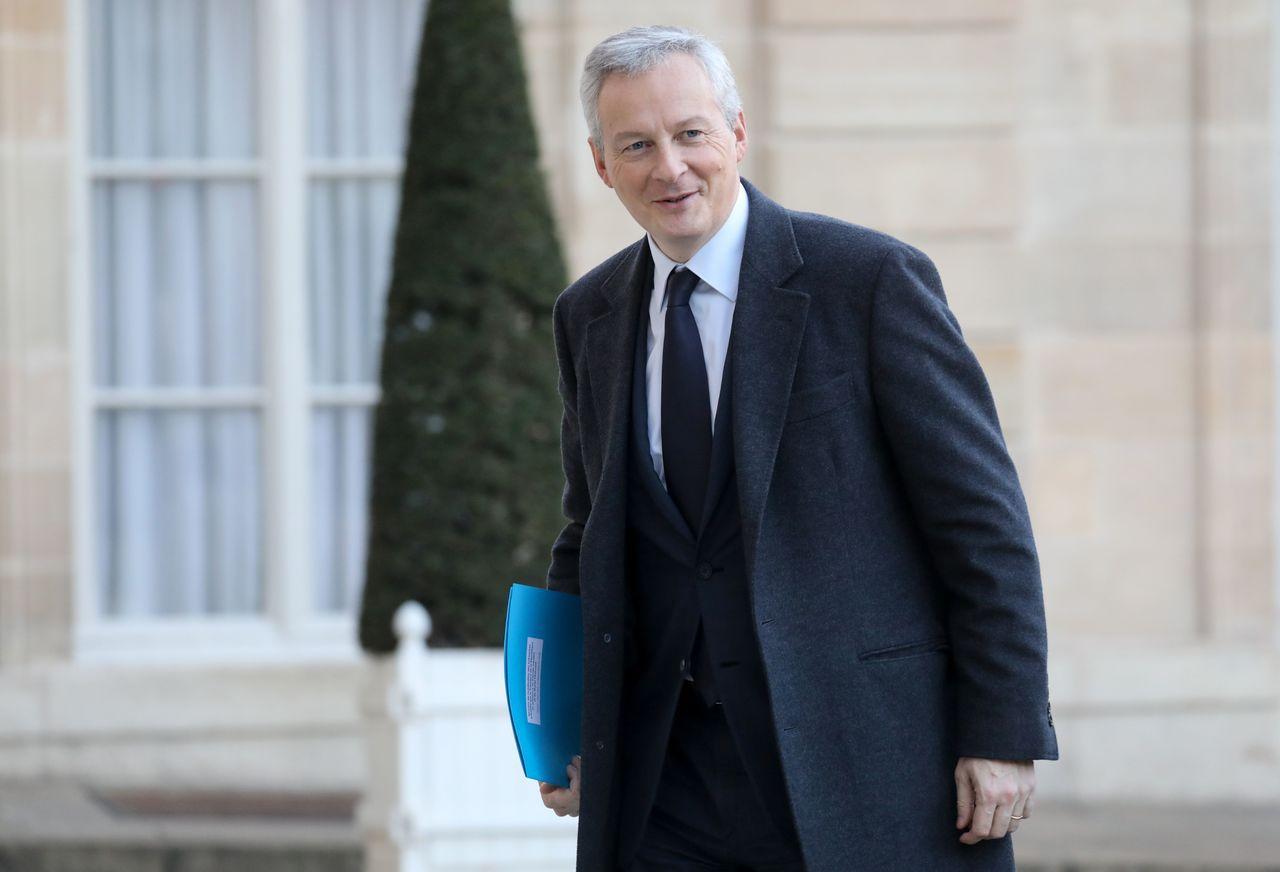 法國財政部長勒麥爾(Bruno Le Maire)。 法新社