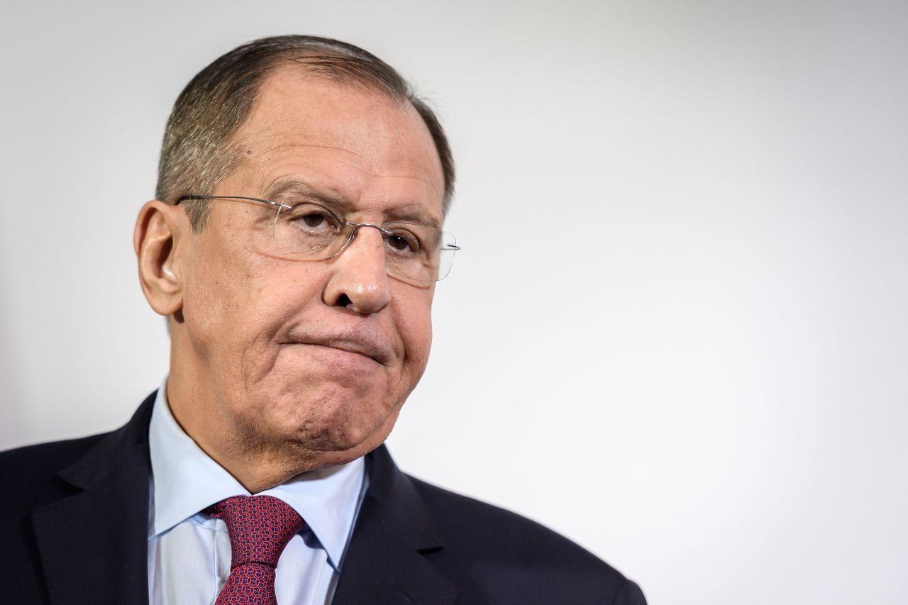 俄國外長拉夫羅夫(Sergei Lavrov)。 法新社