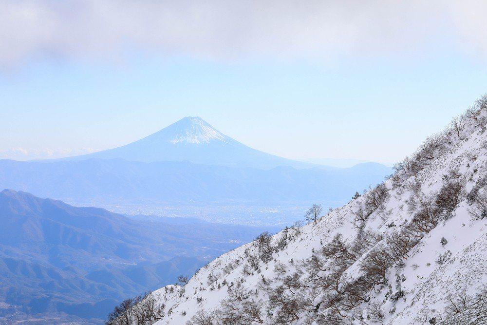 冬天的富士山,只要你有技術與裝備,和三季同樣自由。 圖/作者自攝