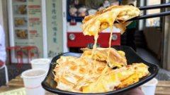 罪惡美食系列!台南起司蛋餅「Bubuking鐵牛早餐車」