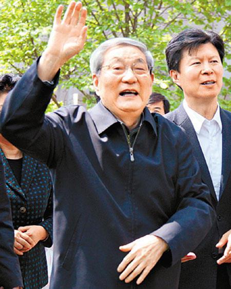 中共前總理朱鎔基。(香港新聞網)