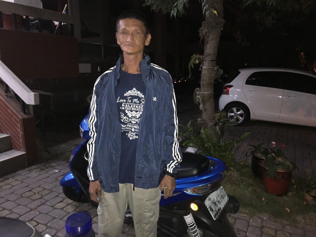 杜姓男子偷走前女友妹妹機車,還酒駕上路被逮。記者徐白櫻/翻攝