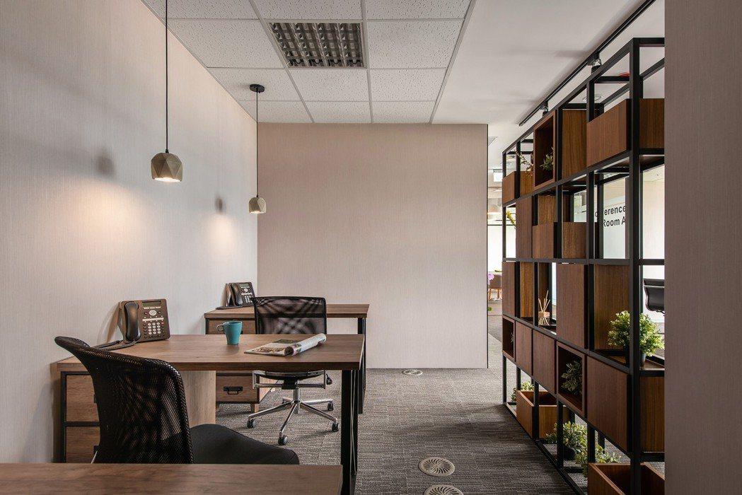 共享辦公室工作空間 圖/大瀚環球商務中心