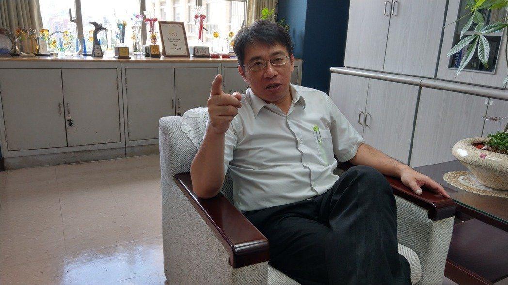 台北市政府副祕書長兼財政局長陳志銘。本報資料照