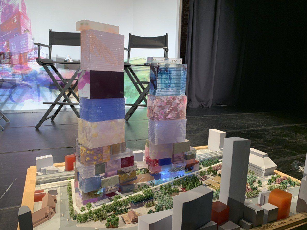 南海控股將該案取名「台北CITY ONE」,外部設計也以層層堆疊的盒子為靈感。 ...