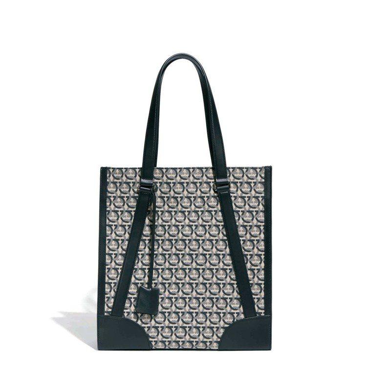THE GANCINI灰色LOGO造型托特包,49,900元。圖/Ferraga...