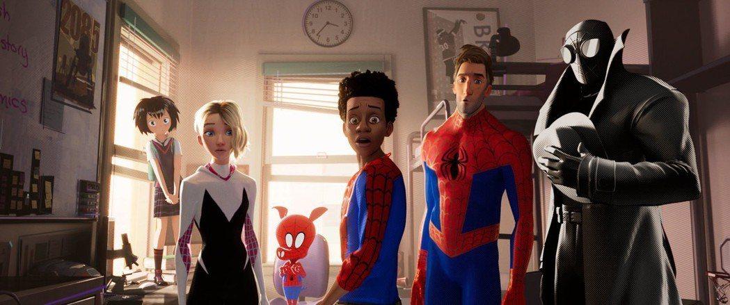 「蜘蛛人:新宇宙」劇照。圖/索尼提供
