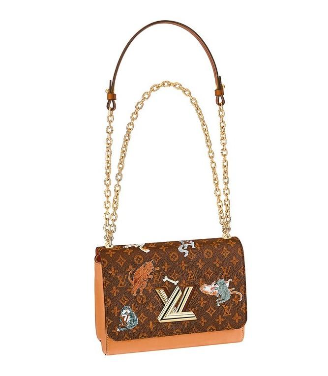 LOUIS VUITTON X Grace Coddington的Twist包款...