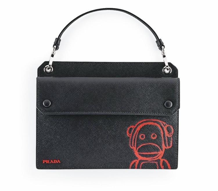 Pradamalia OTTO迷你生物系列肩背手提包,22,000元。 圖/Pr...