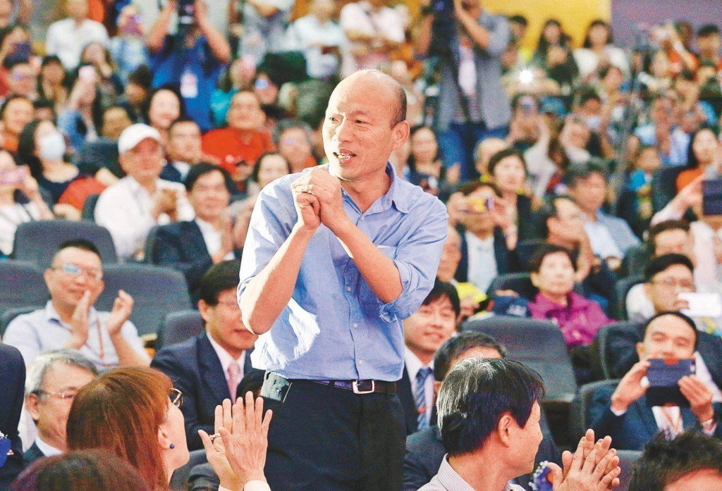 韓國瑜必須幫高雄重新拾起「志氣」,找到城市自我定位。圖/聯合報系資料照片