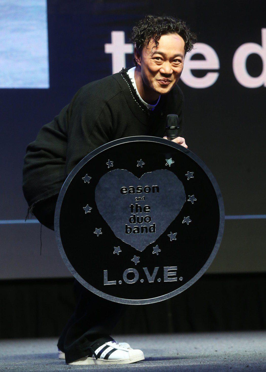 陳奕迅在台北舉辦 《L.O.V.E in F.R.A.M.E.S.》放映會X分享...