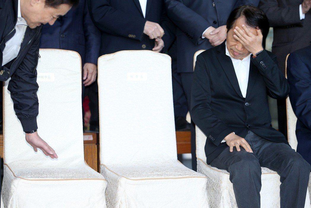 台北市政府小內閣昨總辭,不少局處首長懸缺。 記者余承翰/攝影