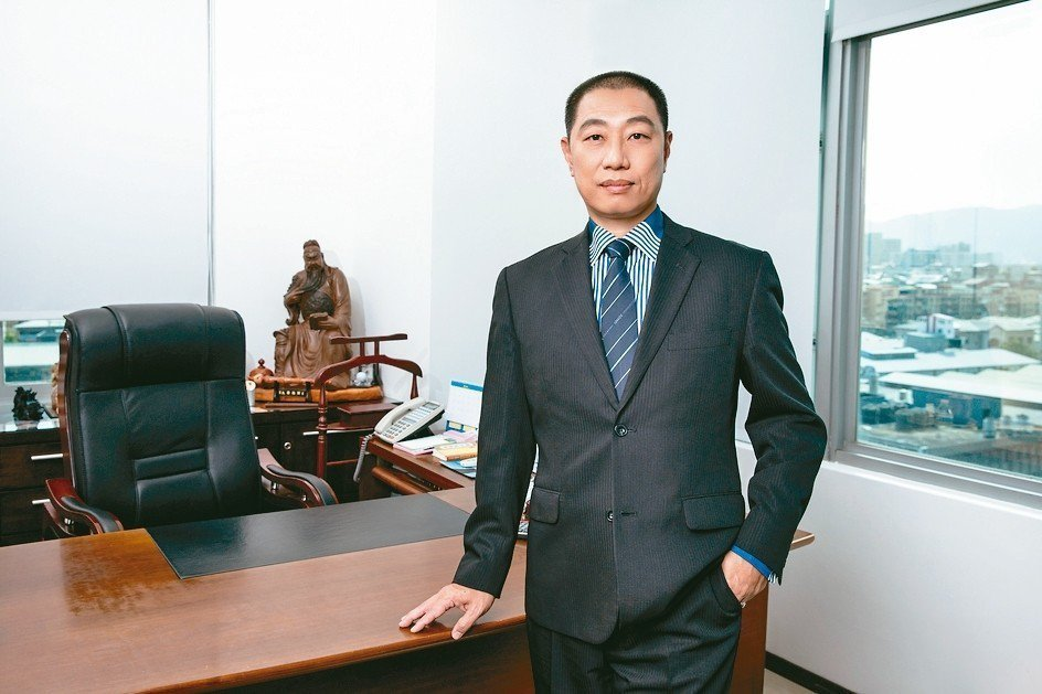 開陽集團董事長蔡宗融。 翁永全/攝影