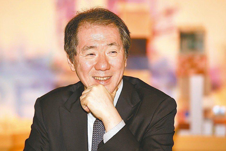 香港南海控股主席于品海 記者林伯東/攝影