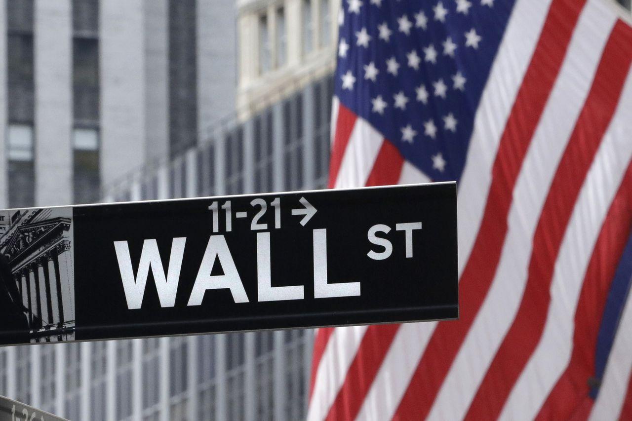 美股走勢自10月起急轉直下。 美聯社