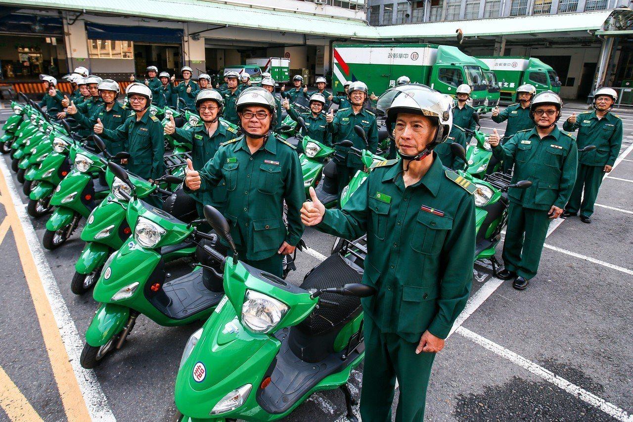 中華郵政公司今年獲利狀況符合預期,員工平均加薪3%。 本報資料照 /記者王騰毅攝...