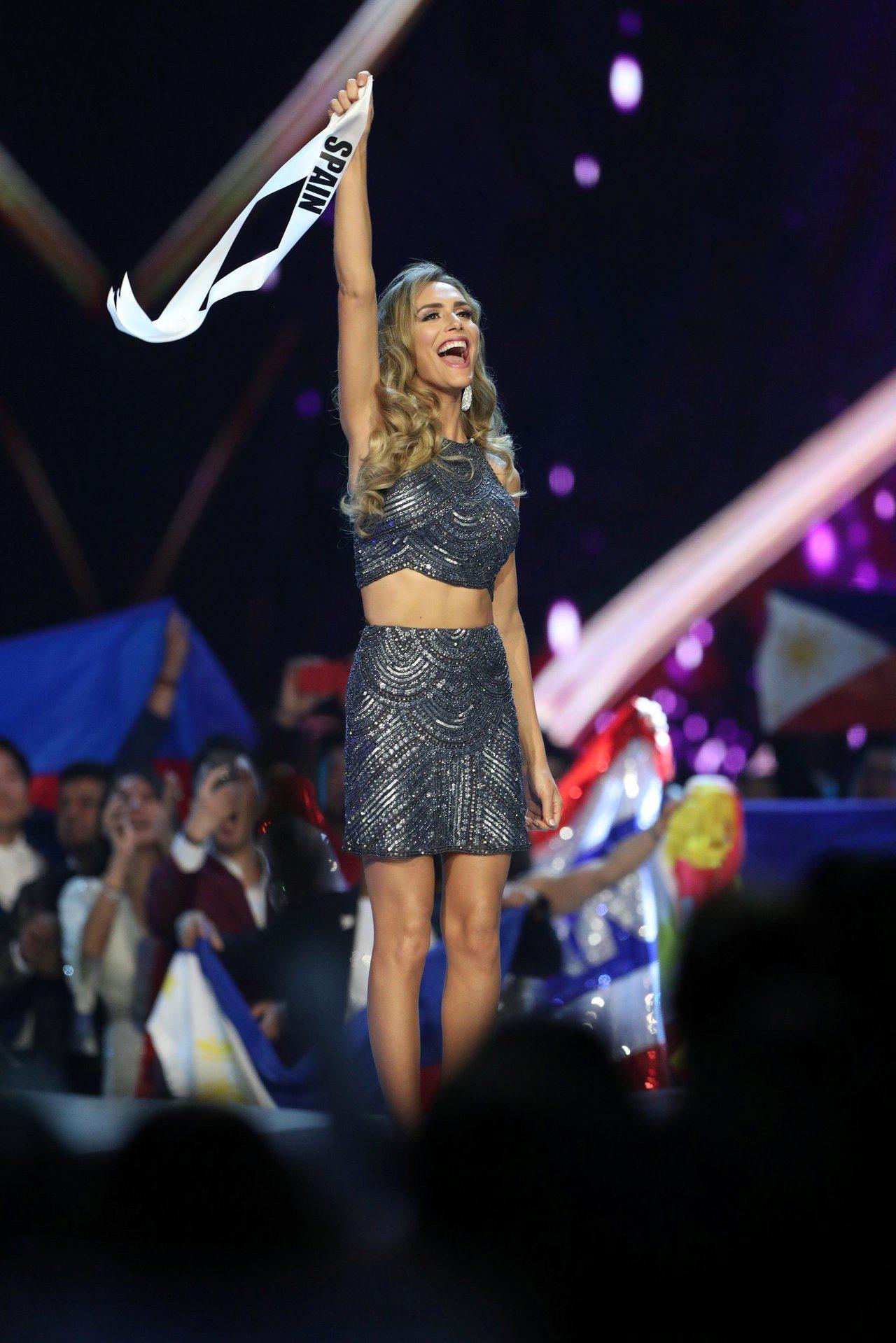 代表西班牙角逐后冠的27歲變性人龐塞(Angela Ponce)。 路透社