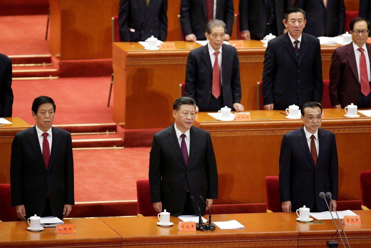 中國國家主席習近平發表談話。 路透社