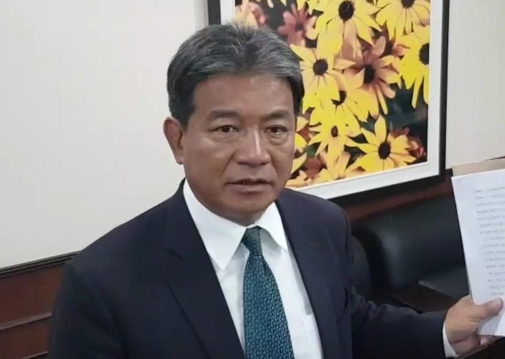 台南現任副議長郭信良。聯合報系資料照/記者修瑞瑩攝影