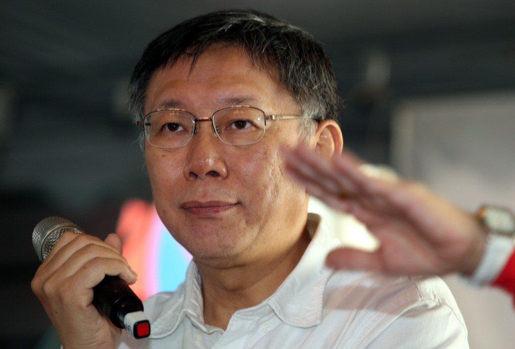 台北市長柯文哲。聯合報系資料照/記者林俊良攝影