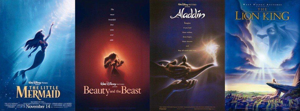 1989年推出《小美人魚》後,開啟了「迪士尼文藝復興」(Disney Renai...