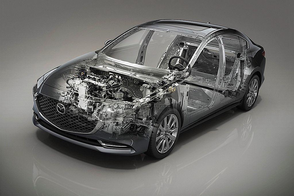 歐規車型入門的2.0L Skyactiv-G汽油引擎,馬力輸出設定為122ps並...
