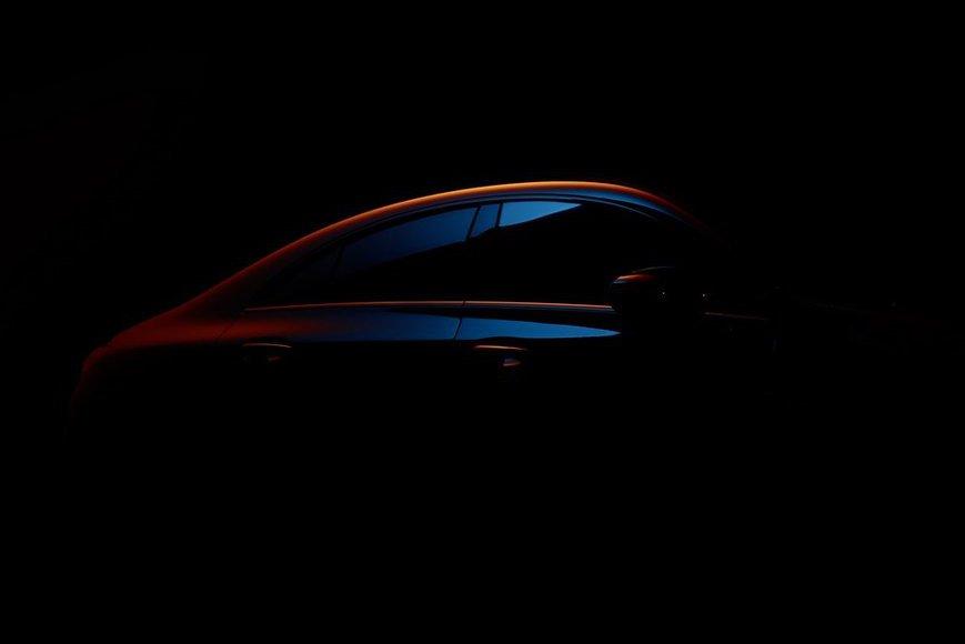 新世代Mercedes-Benz CLA預告照首發 2019 CES消費性電子展將登場!