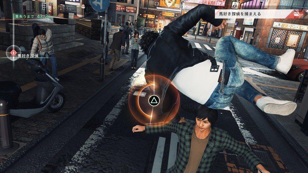 看木村拓哉用華麗的跑酷帥氣地在大街小巷穿梭這種事情,可是只有在遊戲裡才看得到的。