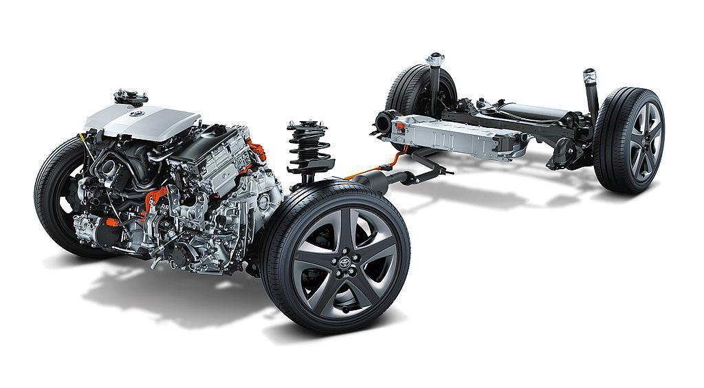小改款Toyota Prius動力依舊來自1.8L直列四缸汽油引擎,搭配電動馬達...
