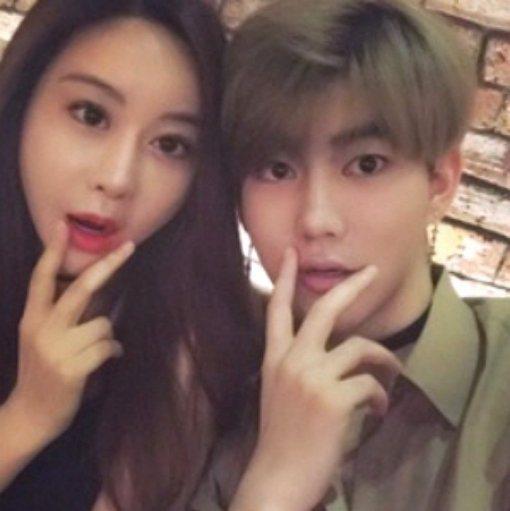 咸素媛和陳華已經登記結婚。圖/摘自朝鮮體育