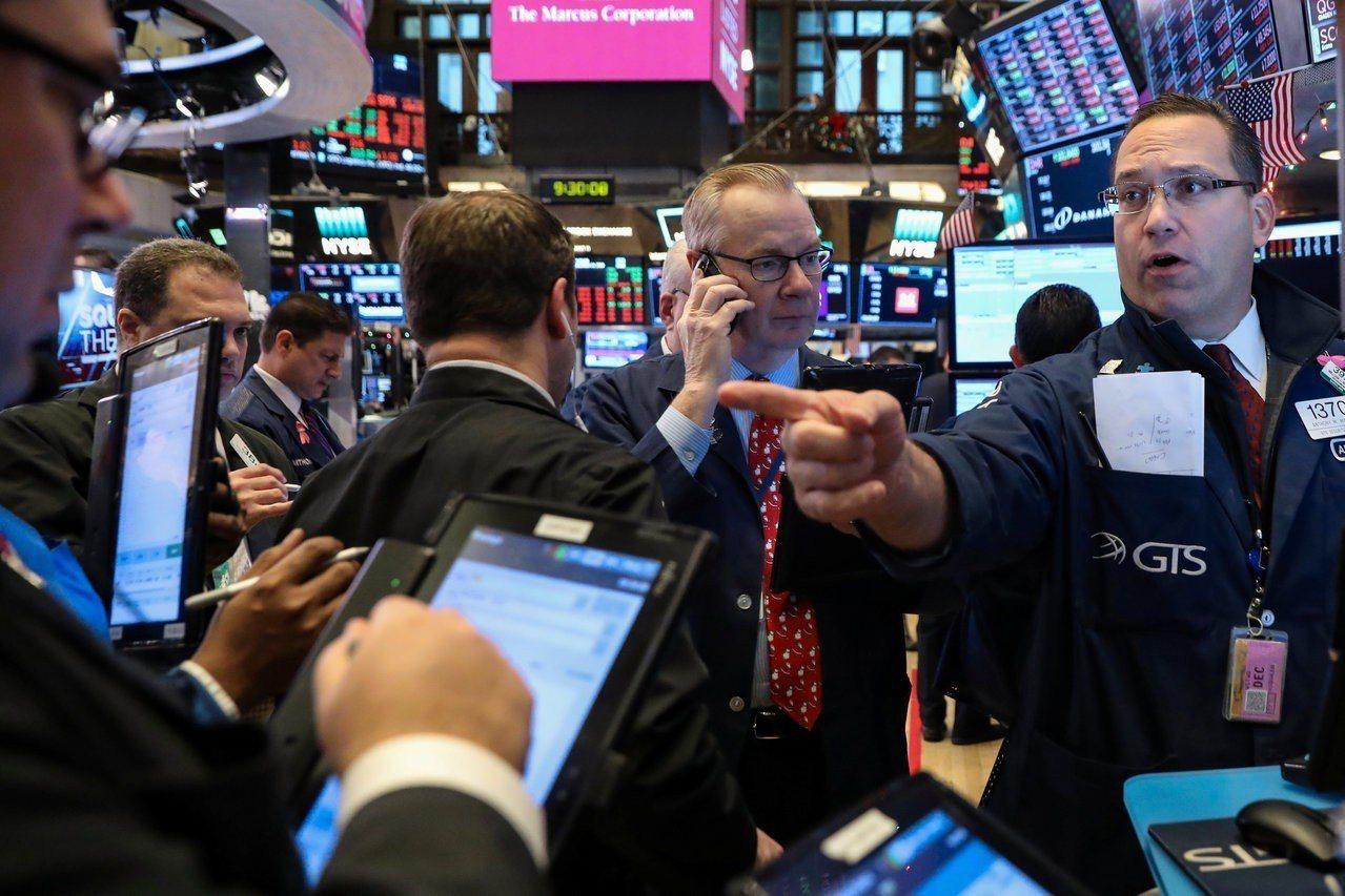 成長疑慮拖累美股三大指數周一重挫。 路透