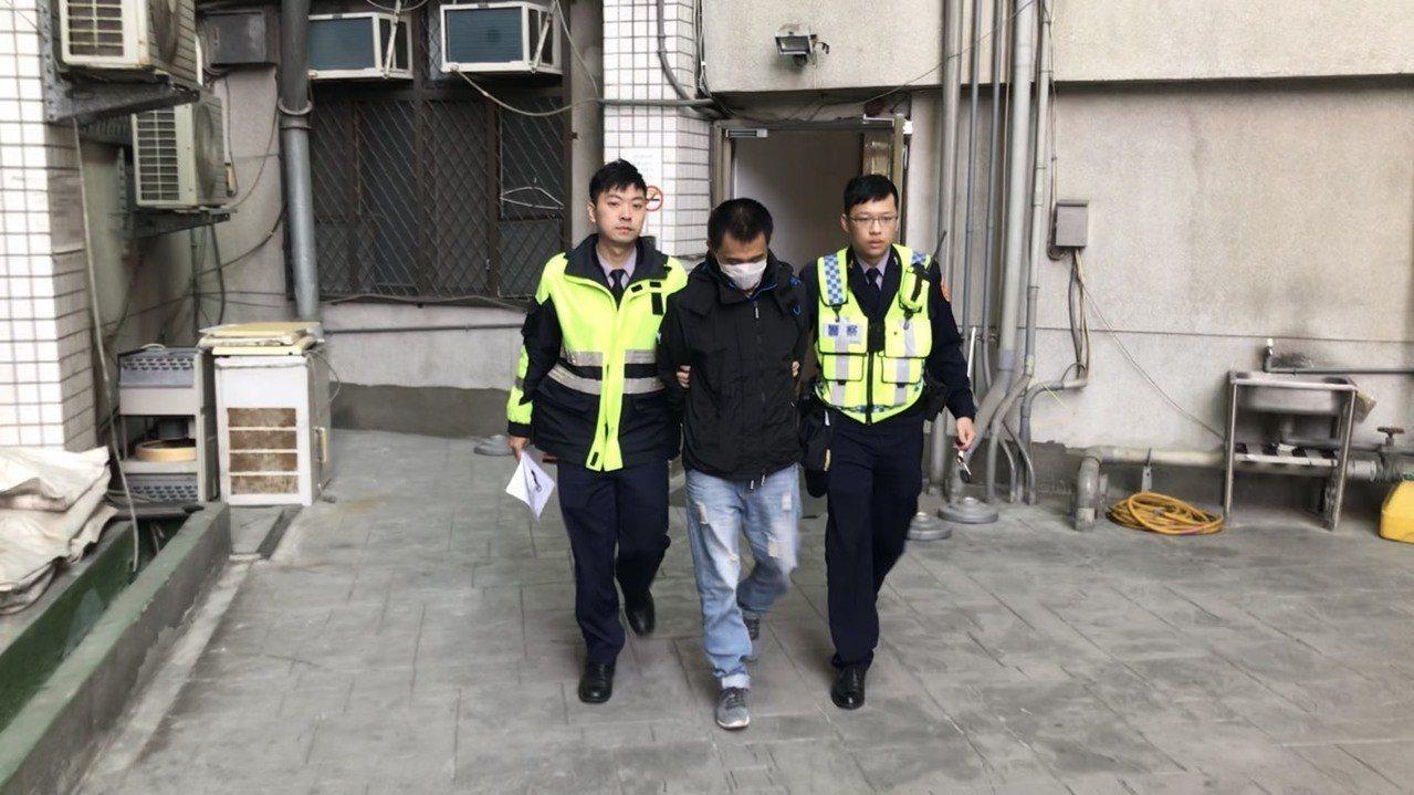 游嫌被警方移送新北地檢偵辦。記者巫鴻瑋/翻攝