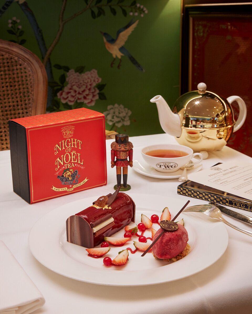 巧克力法式木材蛋糕。 TWG Tea/提供