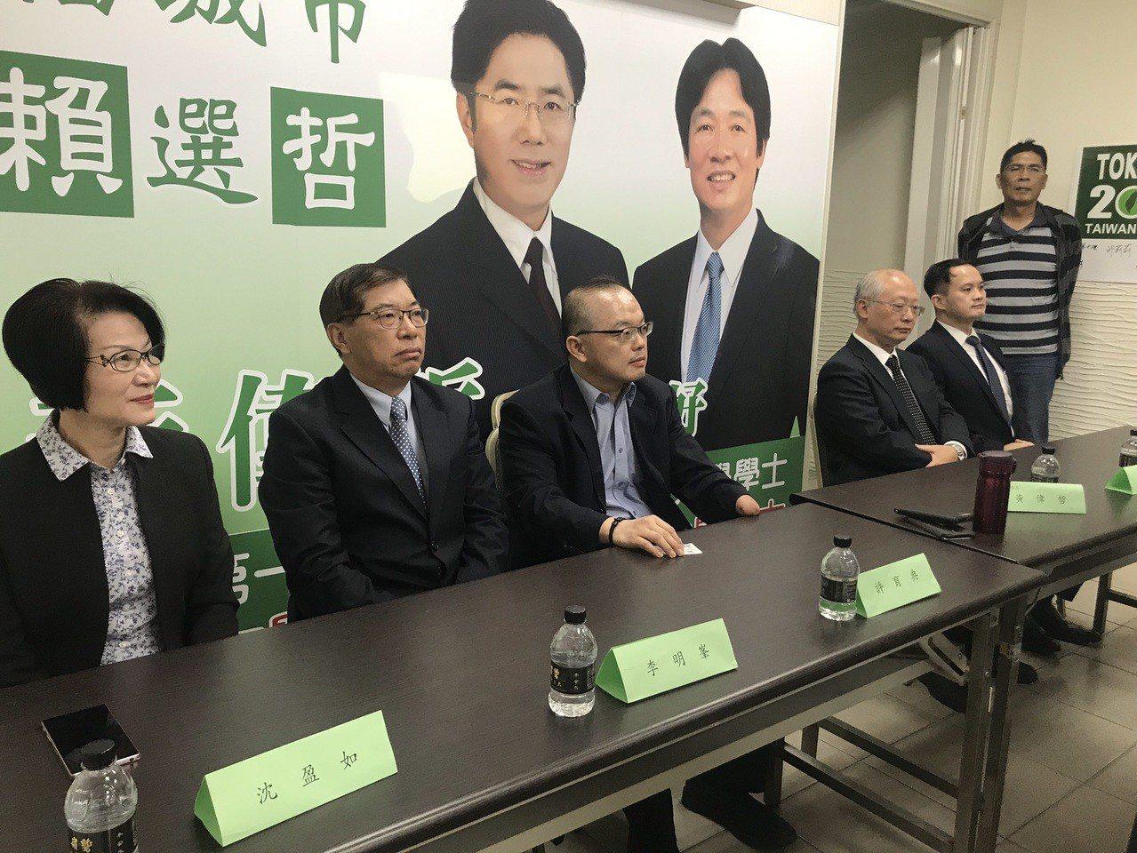 台南市長當選人黃偉哲今公布第三波小內閣名單。記者鄭維真/攝影