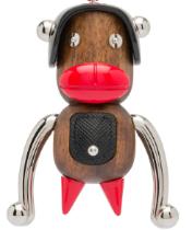 Prada的神秘家族Pradamalia系列其中一款黑色的「Otto」猴子公仔的...