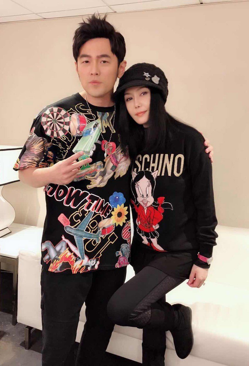江蕙去澳門看周傑倫演唱會。圖/摘自臉書