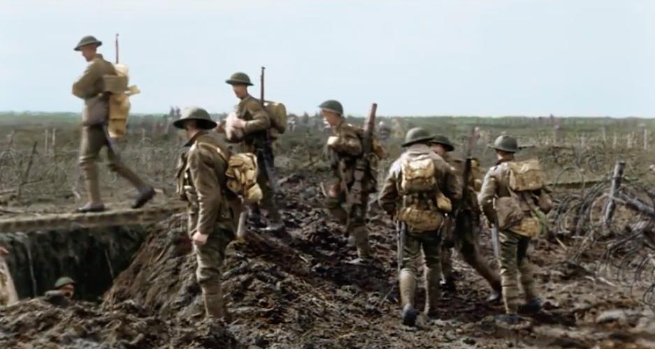 電影《魔戒》三部曲導演彼得.傑克森拍第一次世界大戰的《他們不會變老》細節講究到令...