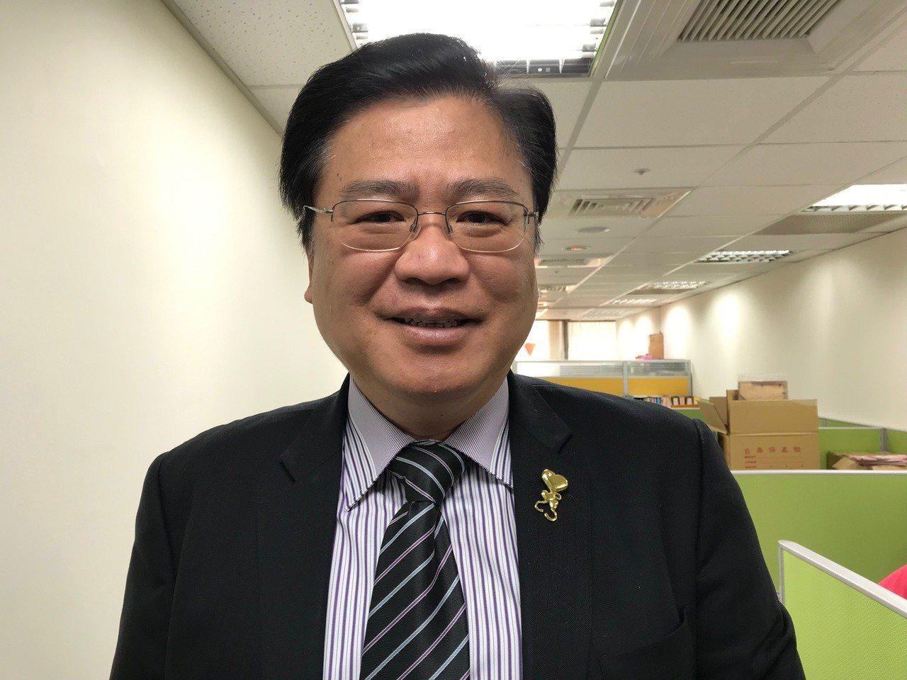 商總副理事長許舒博。 記者陳怡慈/攝影