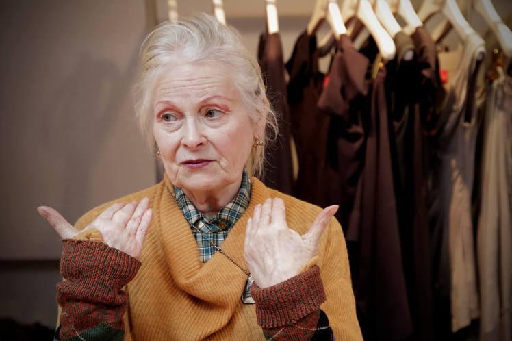 「WESTWOOD:龐克時尚教母」劇照。圖/佳映提供