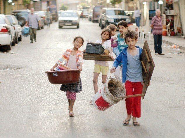 黎巴嫩電影「我想有個家」描述貧民區小孩成長的故事。圖/海鵬提供