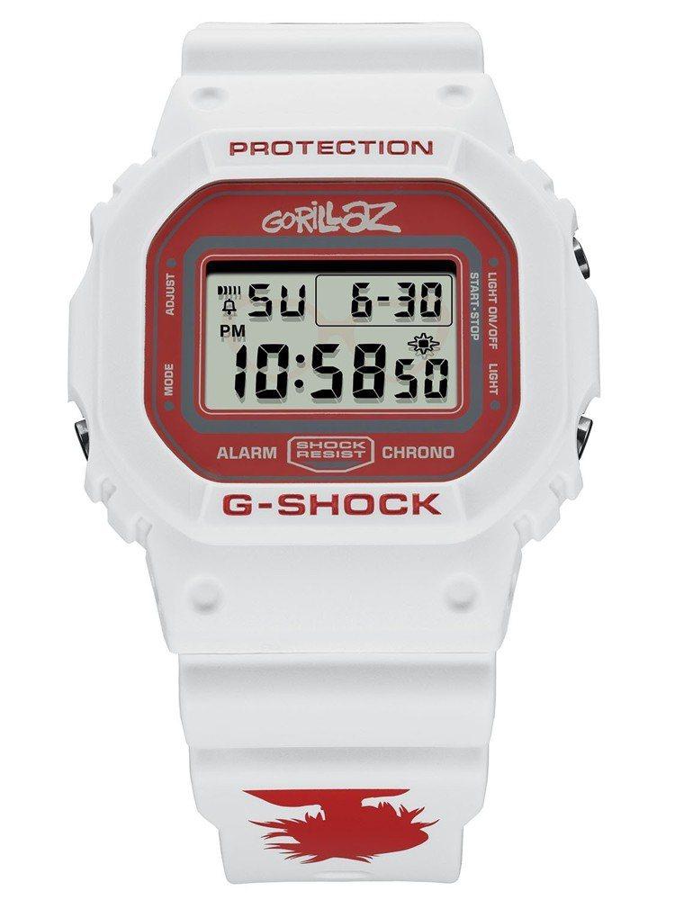 G-Shock與GORILLAZ聯名系列DW-5600GRLZN-7腕表,4,3...