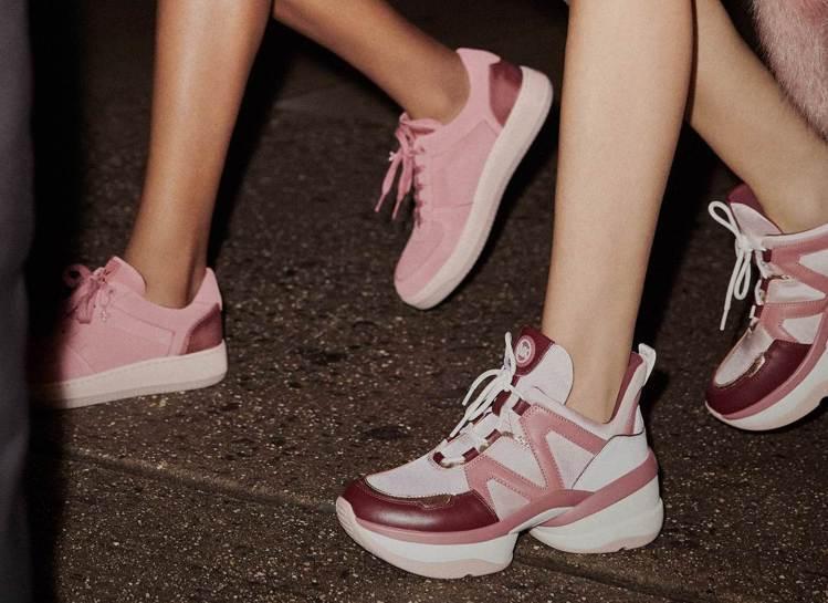MICHAEL KORS於2019早春推出老爹鞋款式。圖/MICHAEL KOR...