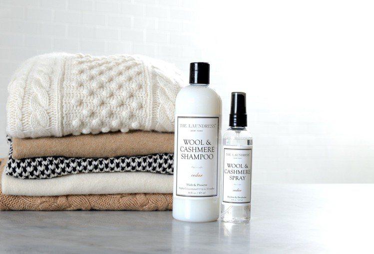 選對洗劑並以正確的方式清潔保養,居家也能DIY照顧毛料衣物。圖/10/10提供