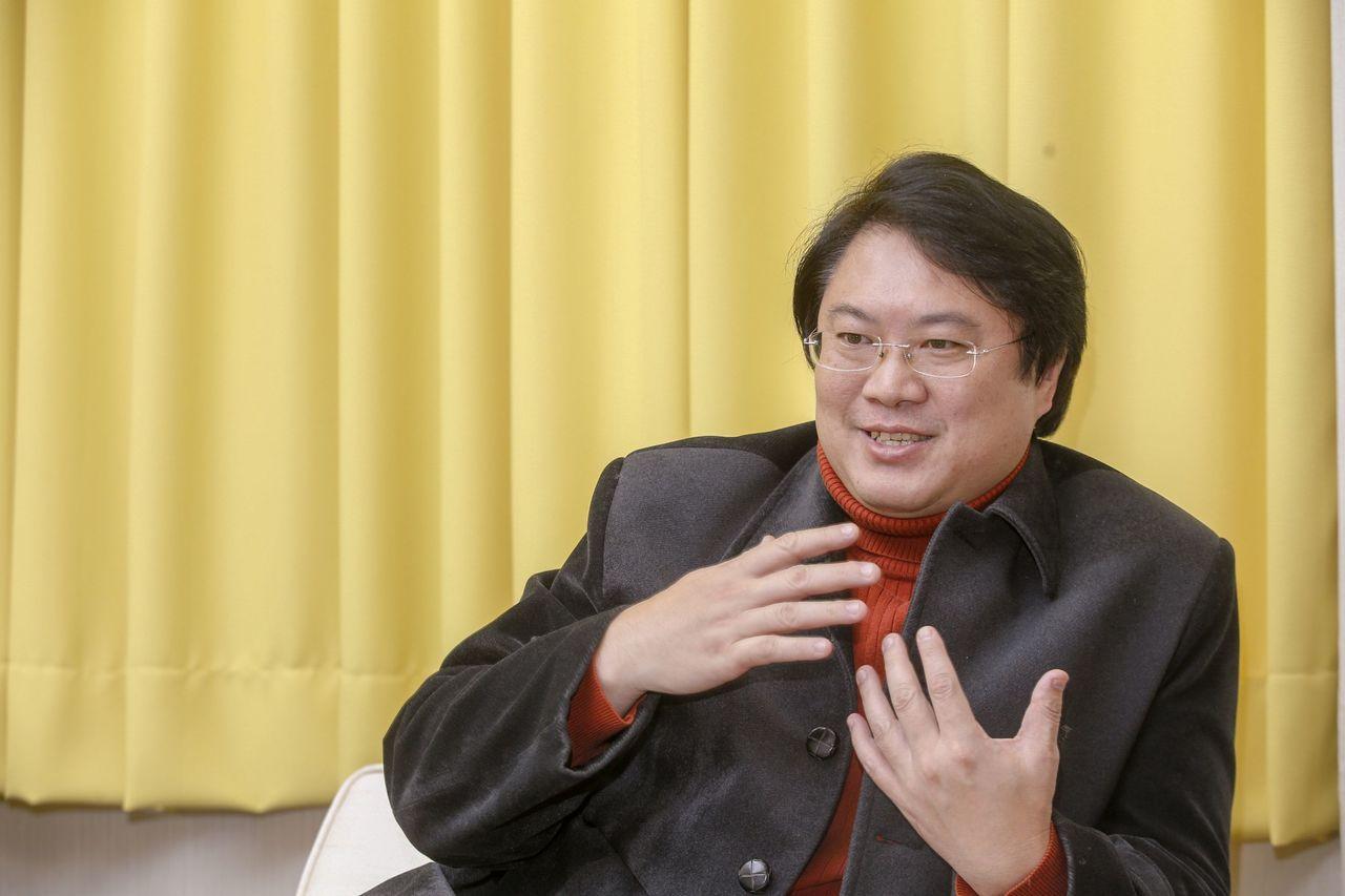 民進黨代理黨主席林右昌。聯合報系資料照/記者鄭超文攝影